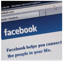 Facebook全球用戶數突破3億,開始賺錢了。(Getty Images)