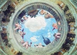 婚禮堂的天花板壁畫。(圖/維基百科)