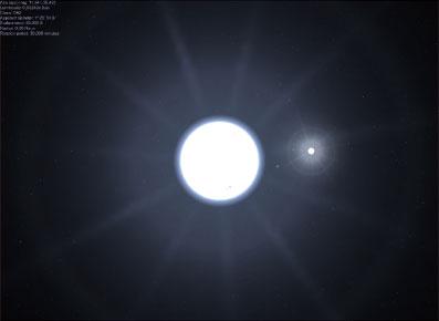 在多汞人的傳說中,天狼星是雙星系,而現在天文學家用最先進的天文望遠鏡觀測發現,天狼星果然有兩顆伴星。(維基百科)